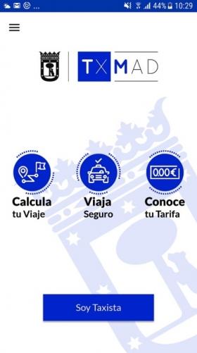 TXMAD: LA PRIMERA APP INFORMATIVA OFICIAL DEL TAXI DE MADRID
