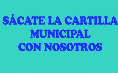 CURSOS DE CARTILLA MUNICIPAL