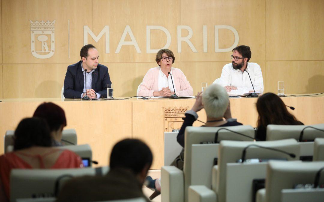 Madrid contará con 24 nuevos kilómetros de carriles bus-taxi en 2018