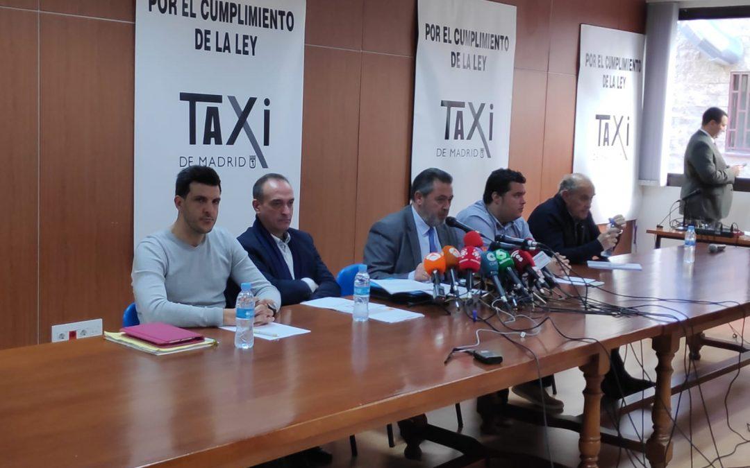 EL SECTOR DEL TAXI PRESENTA UNA NUEVA PROPUESTA A LA COMUNIDAD DE MADRID