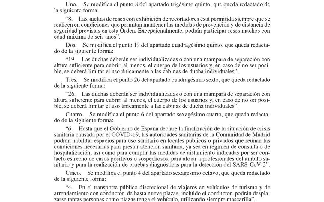 📌ÚLTIMA HORA📌 HABILITADA LA UTILIZACIÓN DEL ASIENTO EL CONDUCTOR EN LOS VEHÍCULOS AUTO TAXI DE MADRID